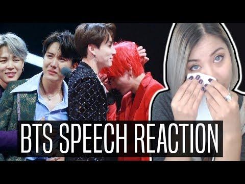 BTS (방탄소년단) ARTIST OF THE YEAR SPEECH REACTION | 2018 MAMA HONG KONG #ThankYouBTS