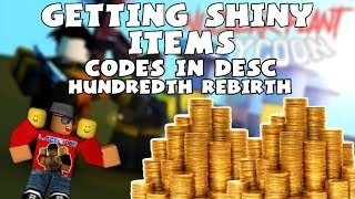 [Roblox] Nuclear Plant Tycoon: GETTING SHINY ITEMS! (Codes in DESC) (Rebirth 100)