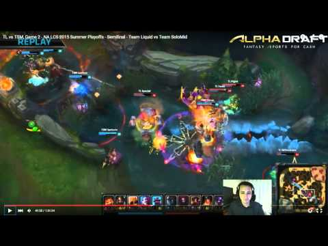 MonteCristo NA LCS Playoffs VOD Review: TSM vs TL