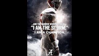 Alabama Football Inspiration 2018 // 2019