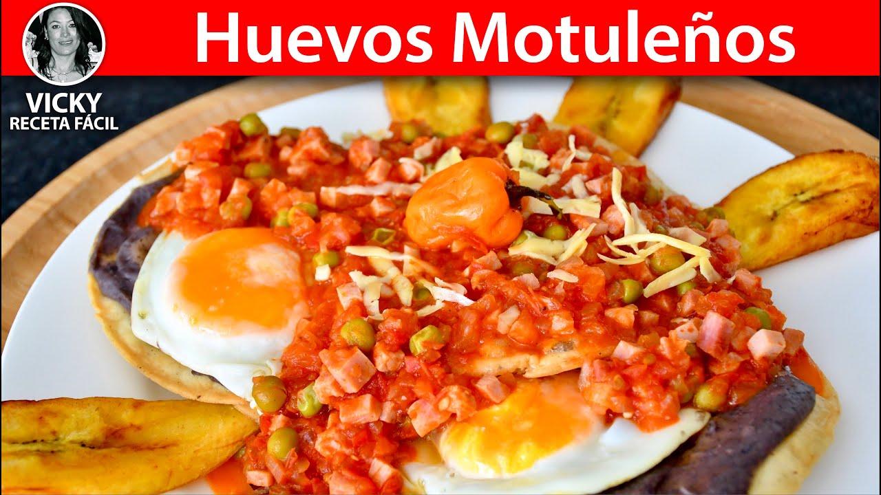 Huevos Motuleños  Desayuno Mexicano | #VickyRecetaFacil