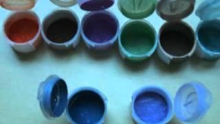 Coastal Scents Meniral Eye Shadow/Line Swatches Thumbnail