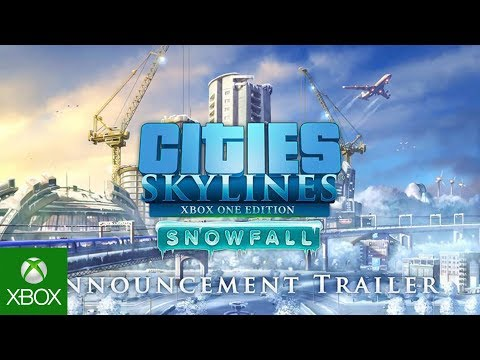 Cities: Skylines - Snowfall XBOX Announcement Trailer