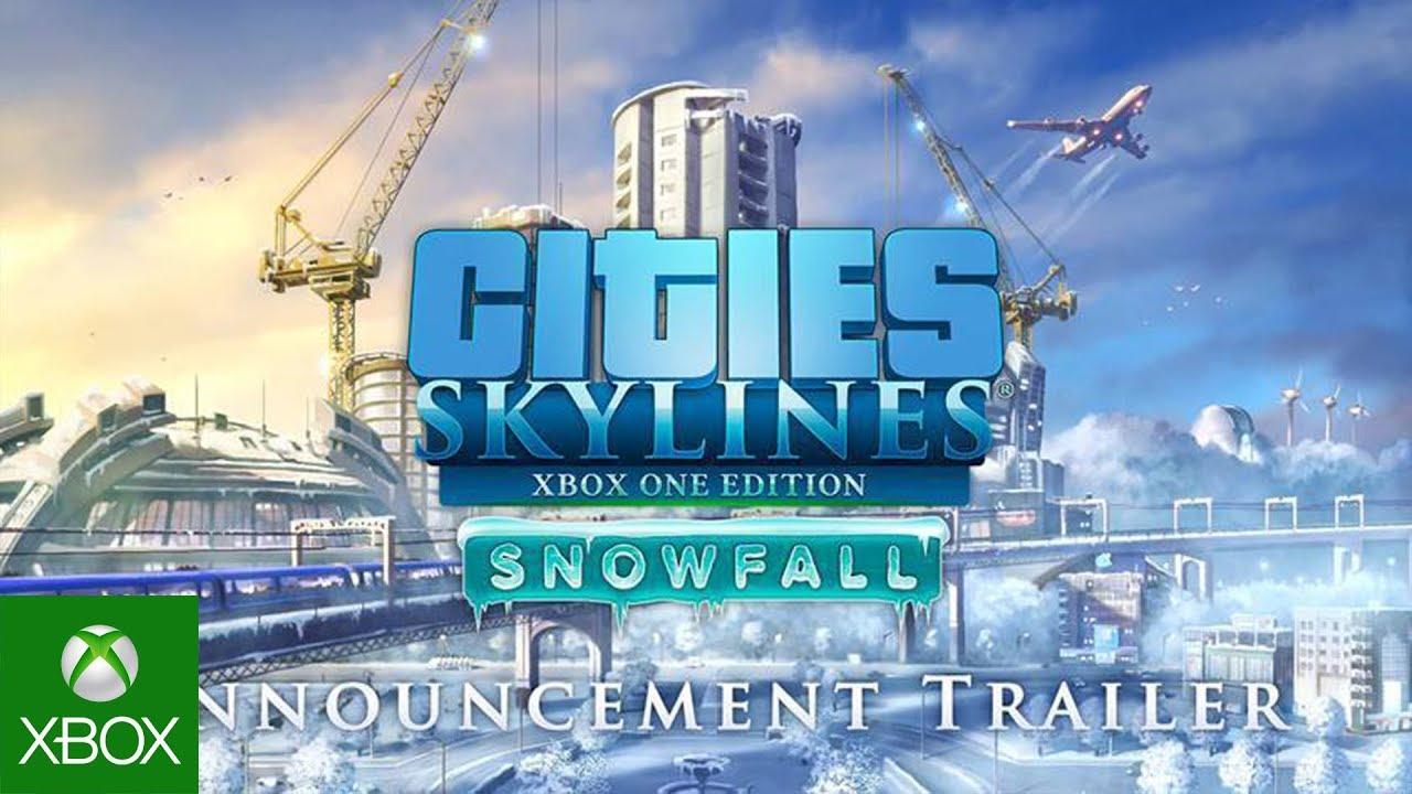 ГОЛОСУЙТЕ ЗА МЕНЯ, Я ХОРОШИЙ МЭР! - Cities: Skylines Snowfall #2 .