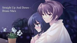 Nightcore - Straight Up And Down - Bruno Mars