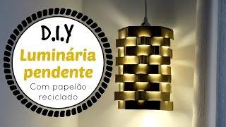 DIY LUMINÁRIA PENDENTE | #ClubeDaCasa Ep.1