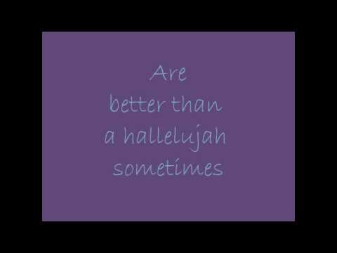 Amy Grant - Better Than A Hallelujah ( Lyrics)