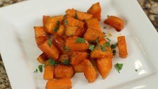 Roast Sweet Potatoes With Honey Lime Glaze By Rockin Robin