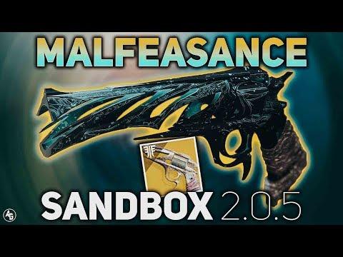 Malfeasance BUFF (Sandbox 2.0.5) | Destiny 2 Forsaken