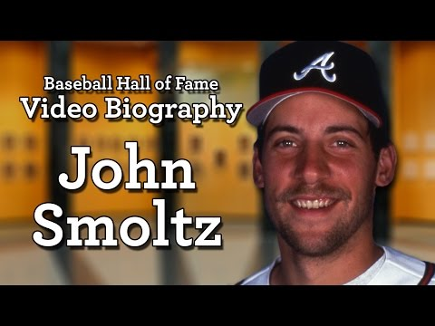 John Smoltz - Baseball Hall of Fame Biographies