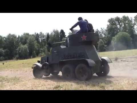 """БА-3.  Военный Фестиваль """"Поле Боя"""" 2014"""