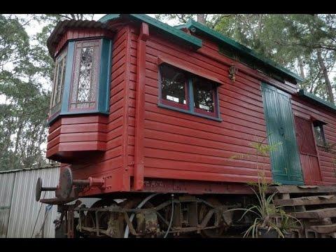 видео: Дачный домик из вагончика. Как сделать дачный домик своими руками.