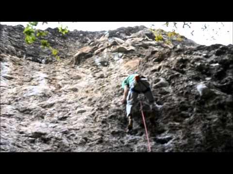 Climbing Endiablada Jilotepec, Mexico