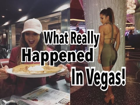 Food, Fitness & Friends: What Happens In VEGAS Ends Up On YOUTUBE!
