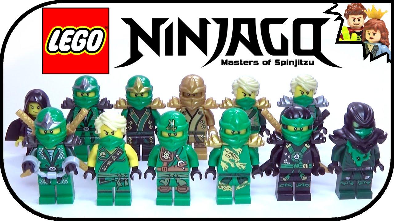 BrickQueen LEGO Ninjago Green Ninja