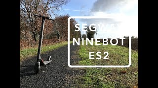 Ninebot ES2 Electric Scooter Review