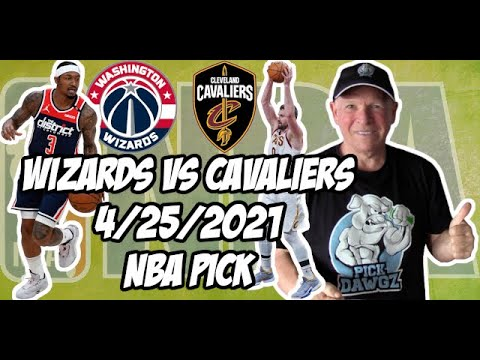 Washington Wizards vs Cleveland Cavaliers 4/25/21 Free NBA Pick and Prediction NBA Betting Tips
