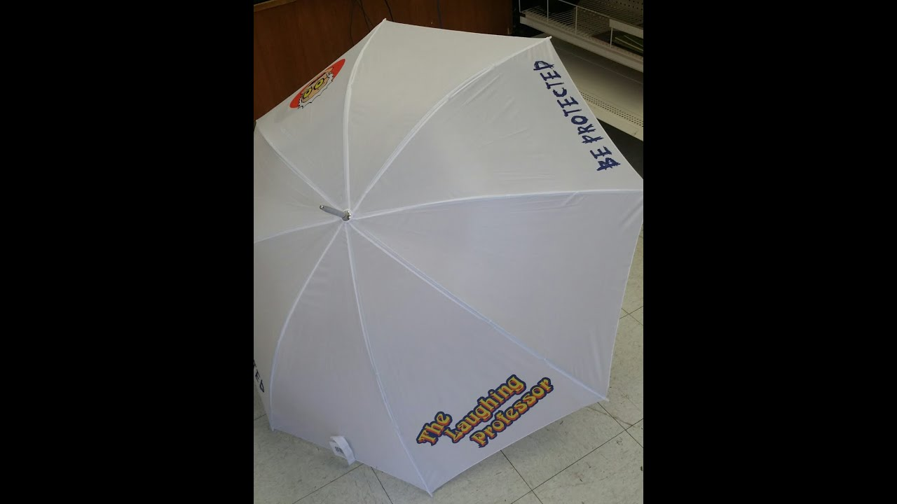 How to sublimate photo to umbrellas youtube for Design online