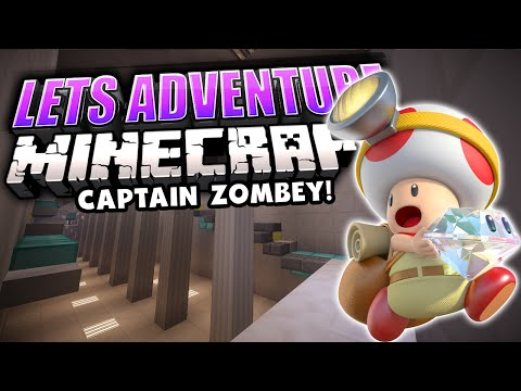 Captain Zombey: Treasure Tracker! | Map 12 | Let's Adventure YOUR Minecraft