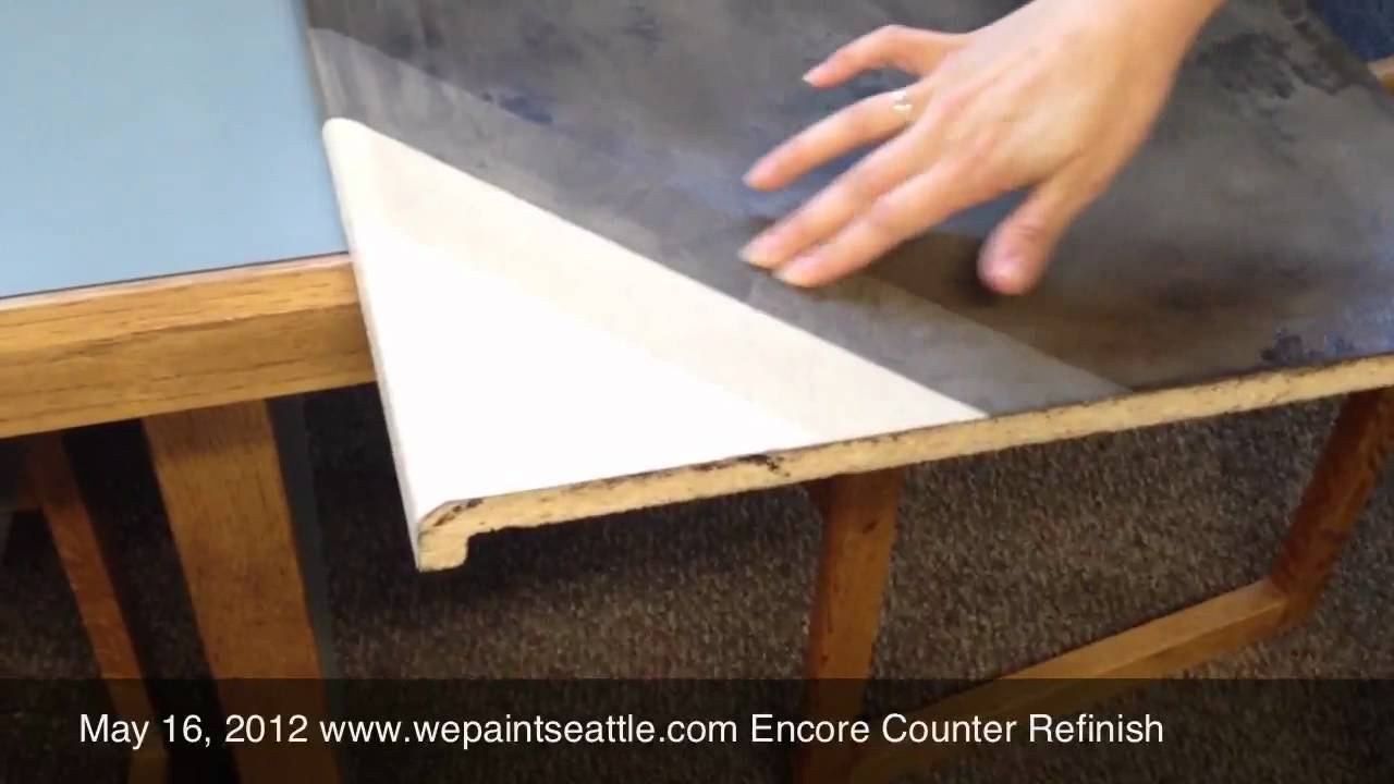 Encore Counter Re Finishing