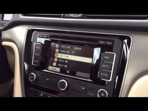 Add and change your favorite radio stations with Neil Huffman Volkswagen