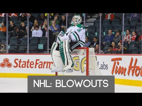 NHL: Blowouts