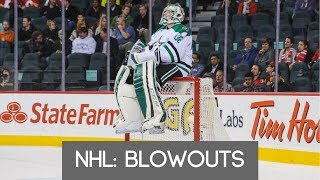NHL: Blowouts