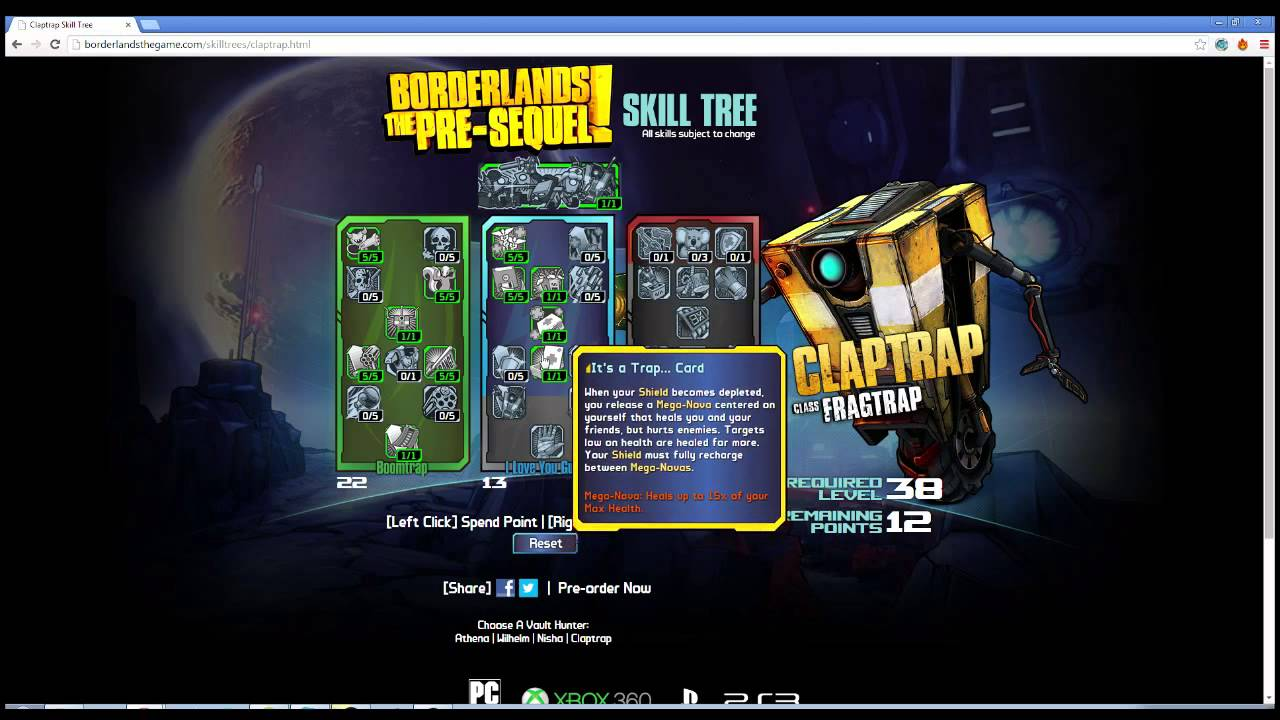 Borderlands The Pre-Sequel: Wilhelm the Unstoppable Cyborg ...