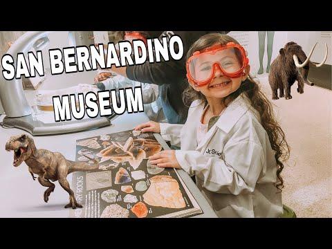 COME WITH US TO THE SAN BERNARDINO COUNTY MUSEUM
