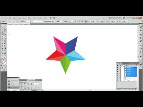 star logo tutorial (illustrator cs5)