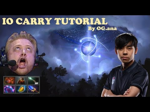 OG.ana PERSPECTIVE IO CARRY VS NiP GAME 2 TI9 FULL - DOTA 2