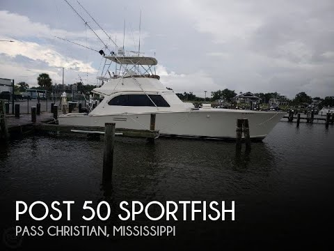 Used 1986 Post 50 SportFish for sale in Pass Christian, Mississippi