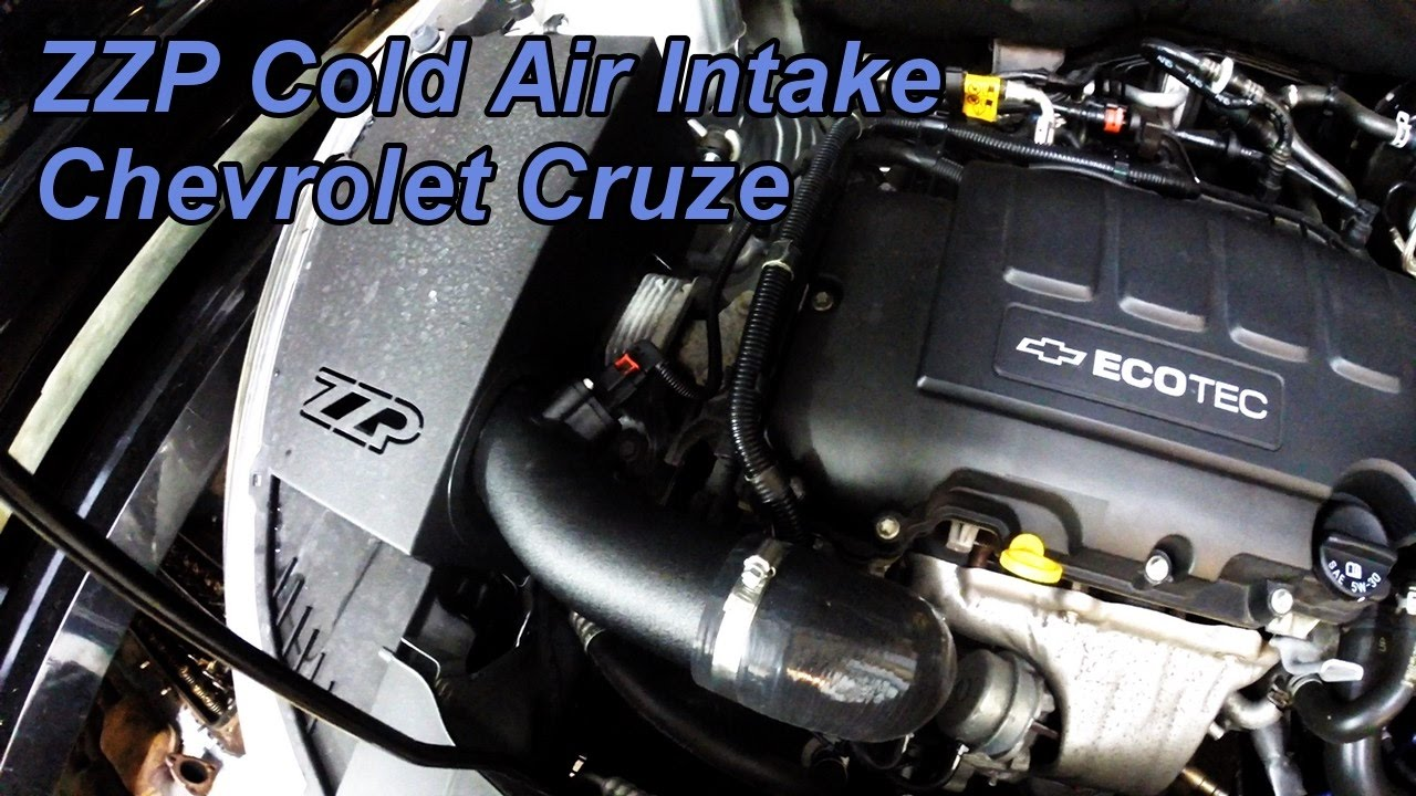 New Chevy Cruze >> HD Chevrolet Cruze ZZP Performance Cold Air Intake Install - New from ZZP! - YouTube