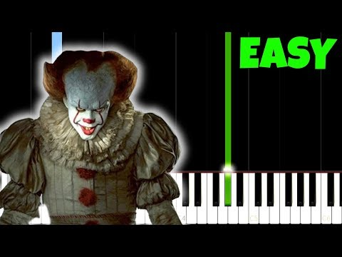 IT 2017  Every 27 Years Easy Piano Tutorial SynthesiaSheet Music