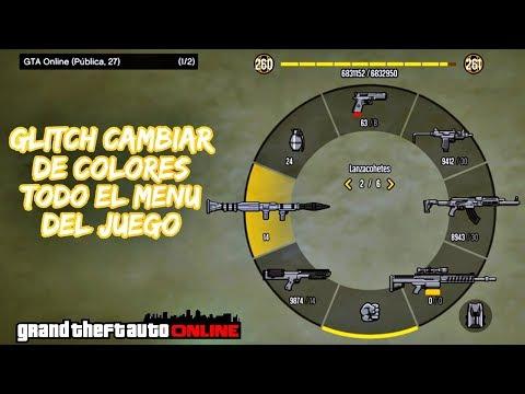 NUEVO TRUCO/GLITCH CAMBIAR DE COLORES EL MENU DEL JUEGO SIN HACK - GTA V ONLINE 1.41 - [XBOX/PS4/PC]