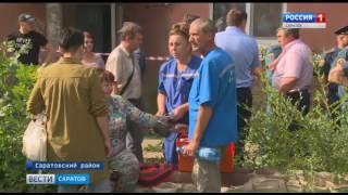 Причины обрушения части жилого дома выясняют в поселке Расково