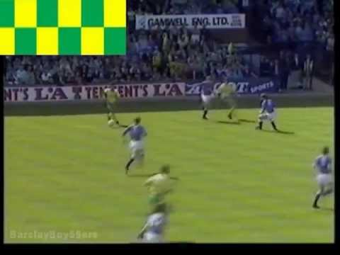 Everton v Norwich FA Cup Semi Final 1989 Villa Park Highlights (part1/2)