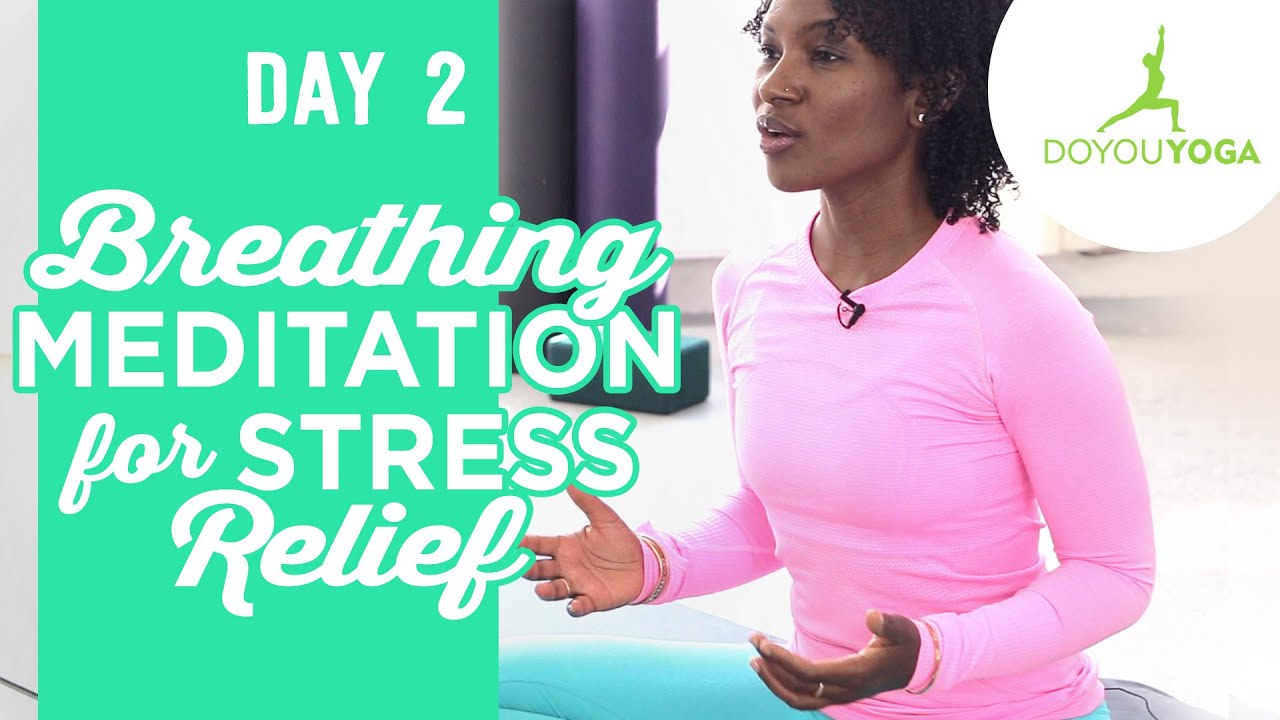 Breathing Meditation for Stress Relief | Day 2 | 30 Day Meditation Challenge