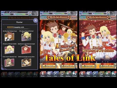 Tales of Link Mystic Arte Summon October 2016