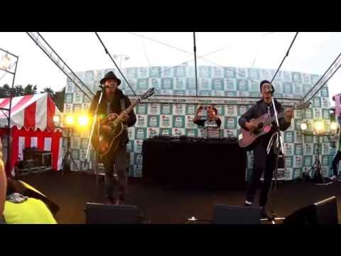 SanQ Band Kaze no tabibito  เพื่อนร่วมทาง  Friendship in MOSHI MOSHI NIPPON 2015年11月7日