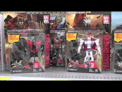 Toy Hunting At Walmart Transformers Combiner Wars Found