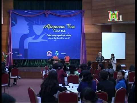 Afternoon Tea on Hanoi TV/ Tin về Tiệc trà gây quỹ trên TV Hà Nội