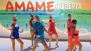 AMAME - DJ BERTA  - MERENGUE - Balli di gruppo estate 2019 -  Nuovo merengue line dance