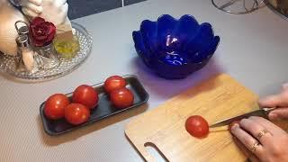 Рецепт вкусного салата/быстрые рецепты/салат с сухариками/рецепт за одну минуту/салат на каждый день