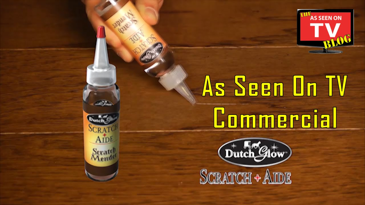 Dutch Glow Scratch Aide As Seen On TV Commercial Buy Scratch Aide As Seen  On TV Wood Scratch Fixer   YouTube