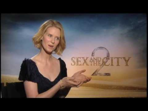 Cynthia Nixon (Sex and the City 2) Interview