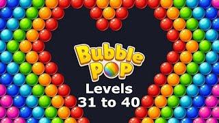 Bubble Pop Puzzle Game Legend Levels 31 to 40   Bubble Shooter screenshot 5