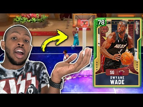 How To Dunk With Evolution Dwyane Wade In NBA 2k20 MyTeam!