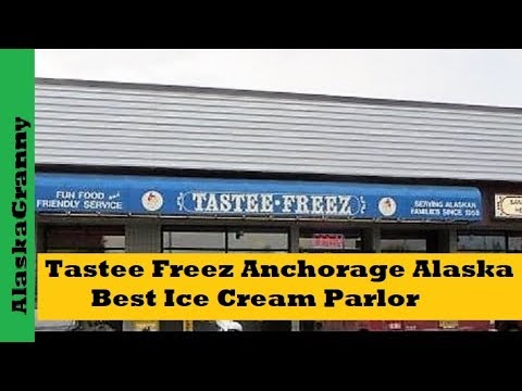 Clothesline Anchorage Extraordinary Tastee Freez Anchorage Alaska Review YouTube