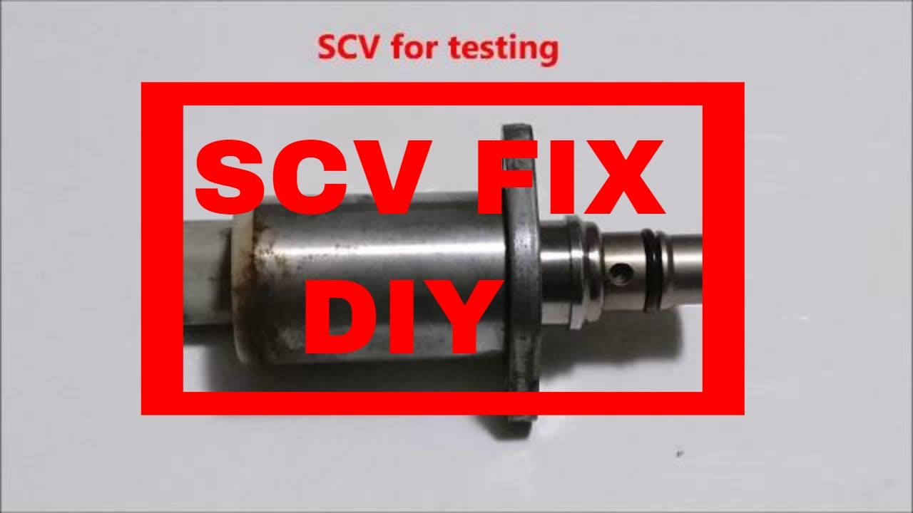 ***SUBSCRIBE***Cleaning Denso SCV valve that was sticking and testing it  electricly